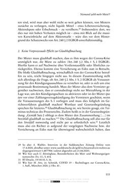 Bild der Seite - 155 - in Vertragsrecht in der Coronakrise