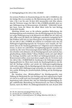 Bild der Seite - 158 - in Vertragsrecht in der Coronakrise
