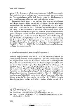 Bild der Seite - 160 - in Vertragsrecht in der Coronakrise
