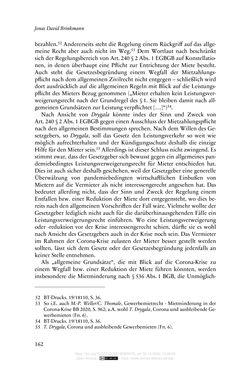 Bild der Seite - 162 - in Vertragsrecht in der Coronakrise