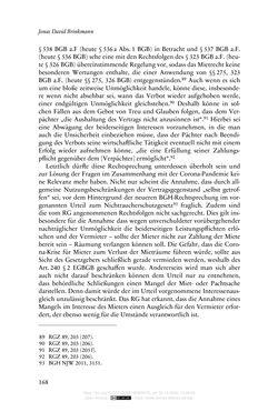 Bild der Seite - 168 - in Vertragsrecht in der Coronakrise