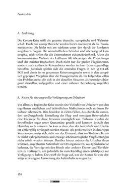 Bild der Seite - 176 - in Vertragsrecht in der Coronakrise