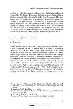 Bild der Seite - 179 - in Vertragsrecht in der Coronakrise