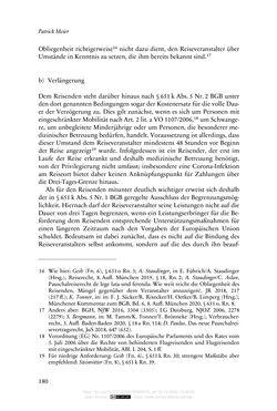 Bild der Seite - 180 - in Vertragsrecht in der Coronakrise