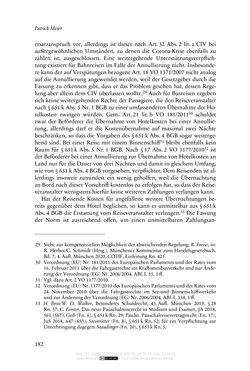Bild der Seite - 182 - in Vertragsrecht in der Coronakrise