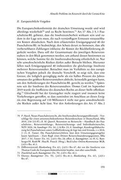 Bild der Seite - 191 - in Vertragsrecht in der Coronakrise
