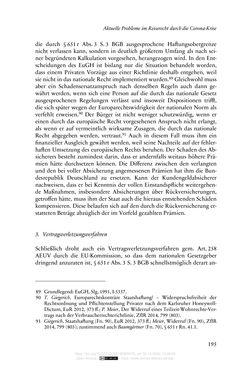 Bild der Seite - 195 - in Vertragsrecht in der Coronakrise