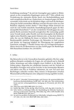 Bild der Seite - 204 - in Vertragsrecht in der Coronakrise
