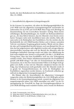 Bild der Seite - 218 - in Vertragsrecht in der Coronakrise