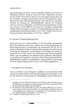 Bild der Seite - 236 - in Vertragsrecht in der Coronakrise