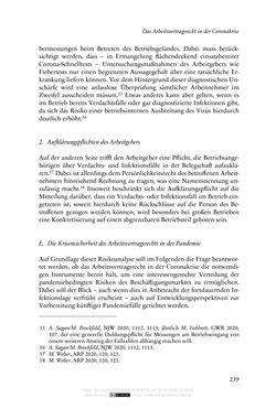 Bild der Seite - 239 - in Vertragsrecht in der Coronakrise