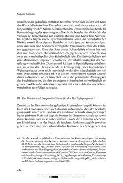 Bild der Seite - 242 - in Vertragsrecht in der Coronakrise