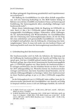 Bild der Seite - 254 - in Vertragsrecht in der Coronakrise