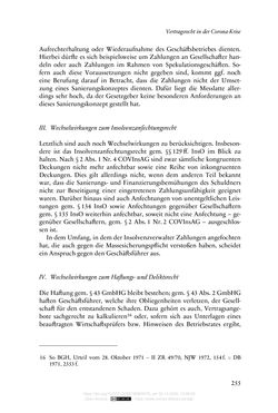Bild der Seite - 255 - in Vertragsrecht in der Coronakrise