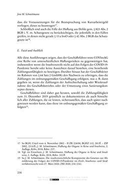 Bild der Seite - 256 - in Vertragsrecht in der Coronakrise