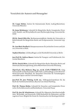 Bild der Seite - 257 - in Vertragsrecht in der Coronakrise