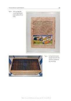 Bild der Seite - 23 - in The Vienna Genesis - Material analysis and conservation of a Late Antique illuminated manuscript on purple parchment