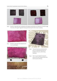 Bild der Seite - 83 - in The Vienna Genesis - Material analysis and conservation of a Late Antique illuminated manuscript on purple parchment