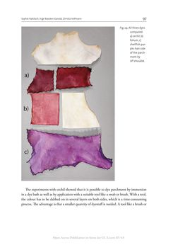 Bild der Seite - 97 - in The Vienna Genesis - Material analysis and conservation of a Late Antique illuminated manuscript on purple parchment