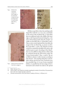 Image of the Page - 123 - in The Vienna Genesis - Material analysis and conservation of a Late Antique illuminated manuscript on purple parchment