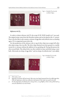 Image of the Page - 167 - in The Vienna Genesis - Material analysis and conservation of a Late Antique illuminated manuscript on purple parchment