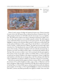 Bild der Seite - 211 - in The Vienna Genesis - Material analysis and conservation of a Late Antique illuminated manuscript on purple parchment