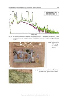 Bild der Seite - 233 - in The Vienna Genesis - Material analysis and conservation of a Late Antique illuminated manuscript on purple parchment