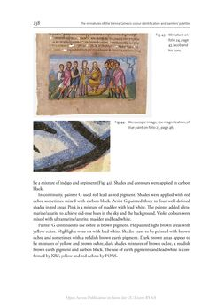 Bild der Seite - 238 - in The Vienna Genesis - Material analysis and conservation of a Late Antique illuminated manuscript on purple parchment