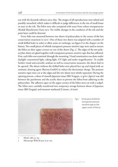 Bild der Seite - 248 - in The Vienna Genesis - Material analysis and conservation of a Late Antique illuminated manuscript on purple parchment