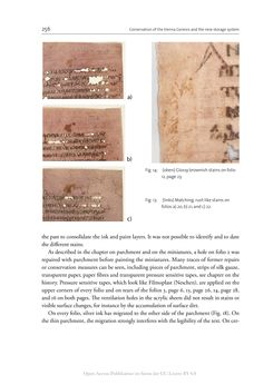 Image of the Page - 256 - in The Vienna Genesis - Material analysis and conservation of a Late Antique illuminated manuscript on purple parchment