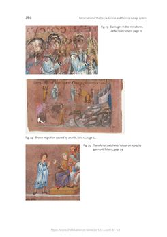Image of the Page - 260 - in The Vienna Genesis - Material analysis and conservation of a Late Antique illuminated manuscript on purple parchment