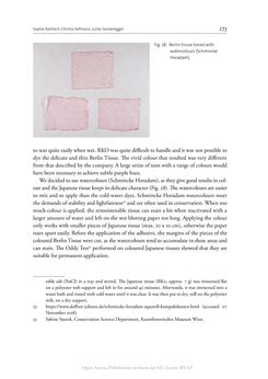 Bild der Seite - 273 - in The Vienna Genesis - Material analysis and conservation of a Late Antique illuminated manuscript on purple parchment