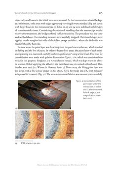Bild der Seite - 275 - in The Vienna Genesis - Material analysis and conservation of a Late Antique illuminated manuscript on purple parchment