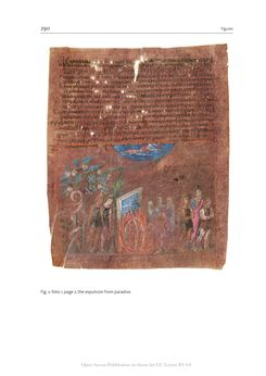 Bild der Seite - 290 - in The Vienna Genesis - Material analysis and conservation of a Late Antique illuminated manuscript on purple parchment