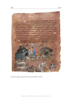 Bild der Seite - 292 - in The Vienna Genesis - Material analysis and conservation of a Late Antique illuminated manuscript on purple parchment