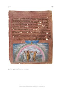 Bild der Seite - 293 - in The Vienna Genesis - Material analysis and conservation of a Late Antique illuminated manuscript on purple parchment