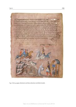 Bild der Seite - 295 - in The Vienna Genesis - Material analysis and conservation of a Late Antique illuminated manuscript on purple parchment