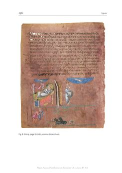 Bild der Seite - 296 - in The Vienna Genesis - Material analysis and conservation of a Late Antique illuminated manuscript on purple parchment