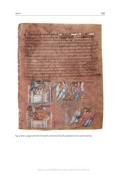 Image of the Page - 297 - in The Vienna Genesis - Material analysis and conservation of a Late Antique illuminated manuscript on purple parchment