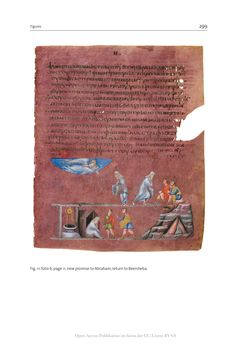 Bild der Seite - 299 - in The Vienna Genesis - Material analysis and conservation of a Late Antique illuminated manuscript on purple parchment