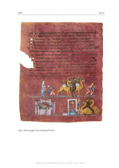 Bild der Seite - 300 - in The Vienna Genesis - Material analysis and conservation of a Late Antique illuminated manuscript on purple parchment