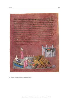 Bild der Seite - 301 - in The Vienna Genesis - Material analysis and conservation of a Late Antique illuminated manuscript on purple parchment