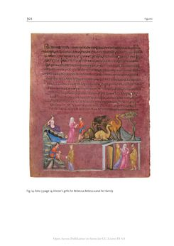 Image of the Page - 302 - in The Vienna Genesis - Material analysis and conservation of a Late Antique illuminated manuscript on purple parchment