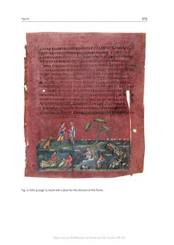 Bild der Seite - 305 - in The Vienna Genesis - Material analysis and conservation of a Late Antique illuminated manuscript on purple parchment
