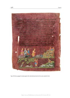 Bild der Seite - 306 - in The Vienna Genesis - Material analysis and conservation of a Late Antique illuminated manuscript on purple parchment