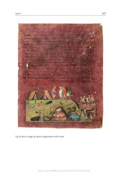 Bild der Seite - 307 - in The Vienna Genesis - Material analysis and conservation of a Late Antique illuminated manuscript on purple parchment