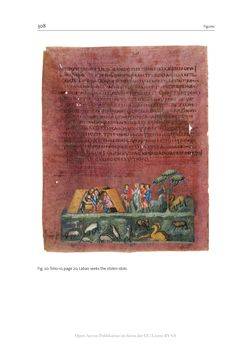Bild der Seite - 308 - in The Vienna Genesis - Material analysis and conservation of a Late Antique illuminated manuscript on purple parchment