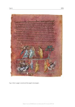 Bild der Seite - 309 - in The Vienna Genesis - Material analysis and conservation of a Late Antique illuminated manuscript on purple parchment