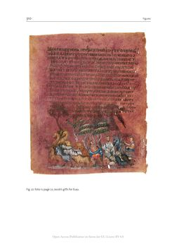 Bild der Seite - 310 - in The Vienna Genesis - Material analysis and conservation of a Late Antique illuminated manuscript on purple parchment