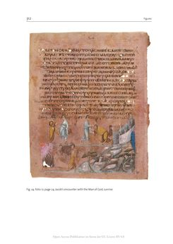 Bild der Seite - 312 - in The Vienna Genesis - Material analysis and conservation of a Late Antique illuminated manuscript on purple parchment